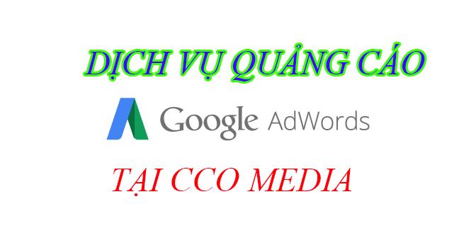 Dịch vụ quảng cáo google adwords của CCO MEDIA