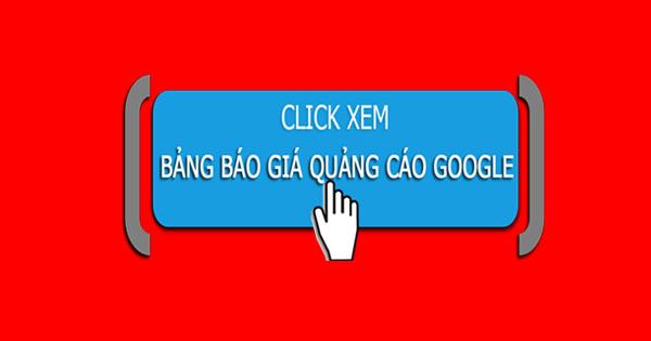 Báo giá từ khóa quảng cáo google