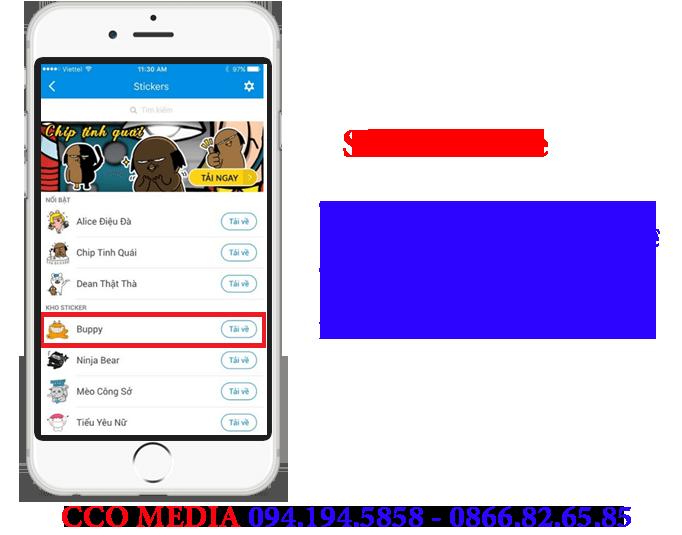 Quảng Cáo Sticker store