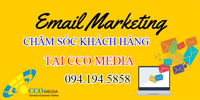 Dịch vụ gửi email marketing chăm sóc khách hàng tại CCO MEDIA