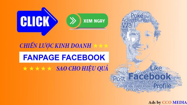 Chiến lược kinh doanh fanpage facebook sao cho hiệu quả