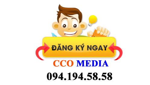 Đăng ký ngay CCO MEDIA