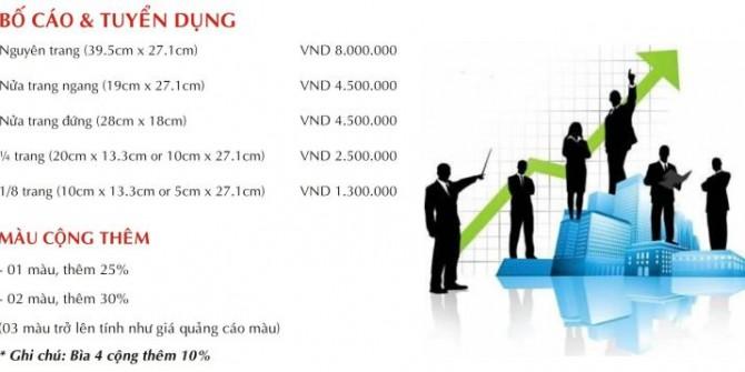 Bảng Giá Booking Quảng Cáo Báo Giấy Đầu Tư Chuyên Mục